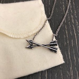 James Avery Arrow Crossed Paths Necklace